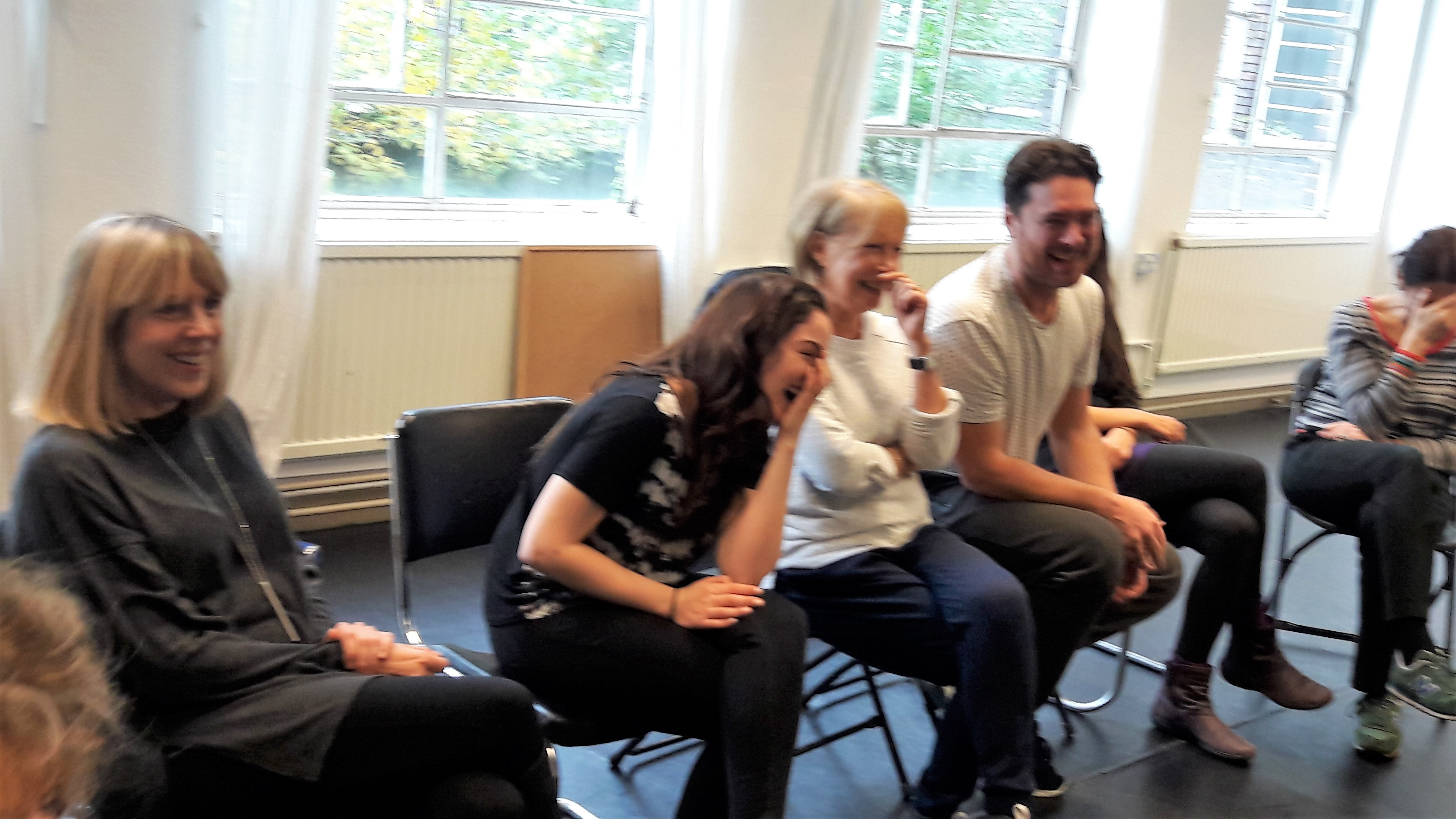 Laughter at a PACT workshop
